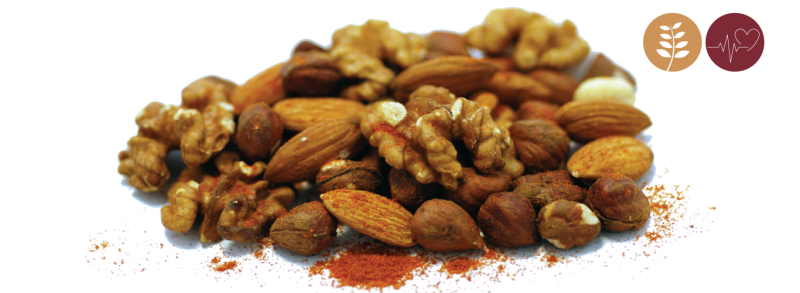 Spicy nuts